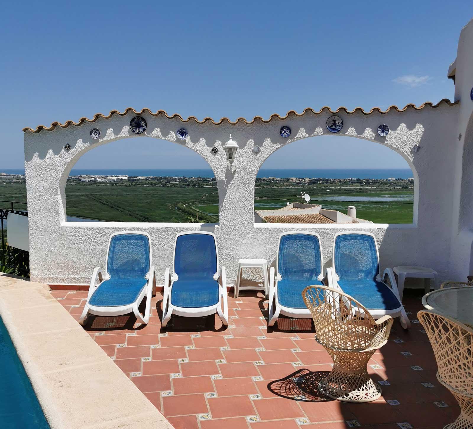 Terrasse - utsikt