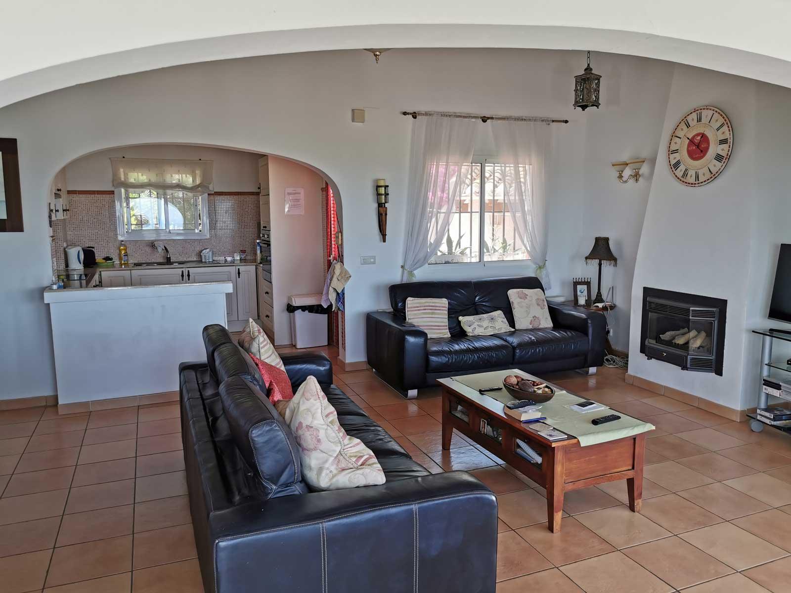 stue og kjøkken
